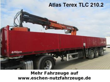 Wellmeyer, Atlas Terex TLC 210.2 Kran  - semitrailer