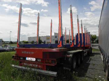 Wellmeyer STF 35/ 125 LH / Langholztransporter - semitrailer