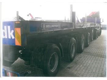 wellmeyer 5-axle ballast trailer - semitrailer
