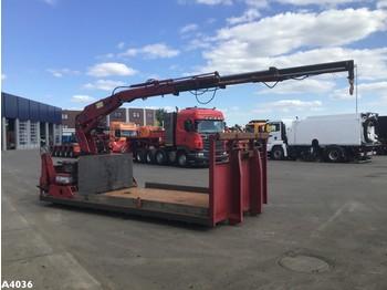 Контейнер Open laadbak + Kennis 14 ton/meter laadkraan