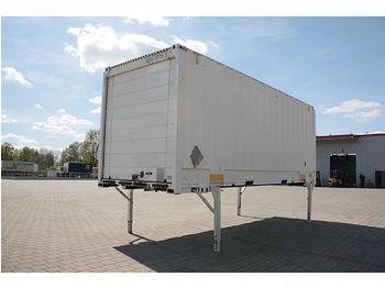 Сменный кузов - фургон / - 20 x BDF JUMBO Wechselkoffer mit Rolltor