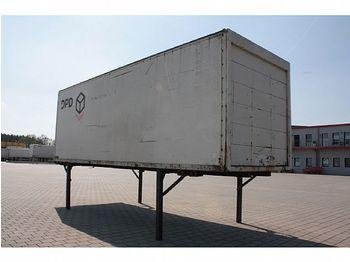 Сменный кузов - фургон Lagerbehälter mit Rolltor 7,15 m: фото 1