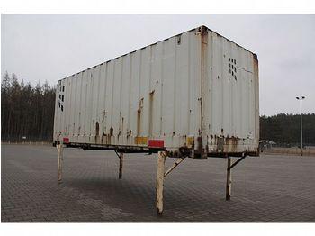 Сменный кузов - фургон / - Wechselbrücke Koffer Rolltor 7,45 m