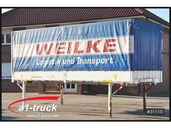 Тентованный кузов Krone 20 x WB 7,45 BDF Wechselbrücke, Bordwand, EDSCHA