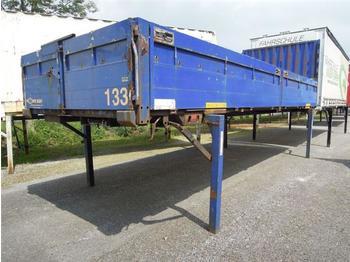 Тентованный кузов Krone - BDF System 7.450 mm lang in Baustoffausführung