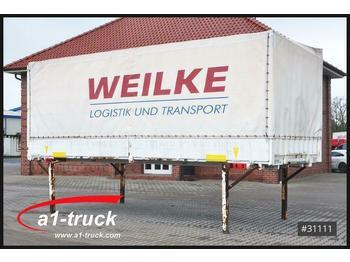 Брезентова каросерия Krone 20 x WB 7,45 BDF Wechselbrücke, Bordwand, EDSCHA
