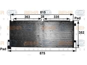 Air conditioner Volvo fh13