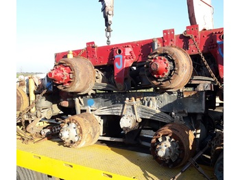 Scania  114 124 144 6x4 6x6 8x4 8x8  - axle and parts
