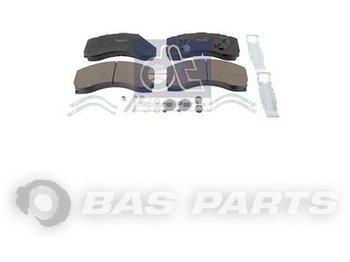 DT SPARE PARTS Disc brake pad kit 1533684 - brake pads