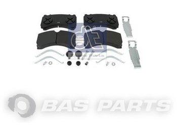 DT SPARE PARTS Disc brake pad kit A0064205320 - brake pads