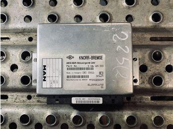 MAN 255 Knorr Bremse ABS/ASR - ecu
