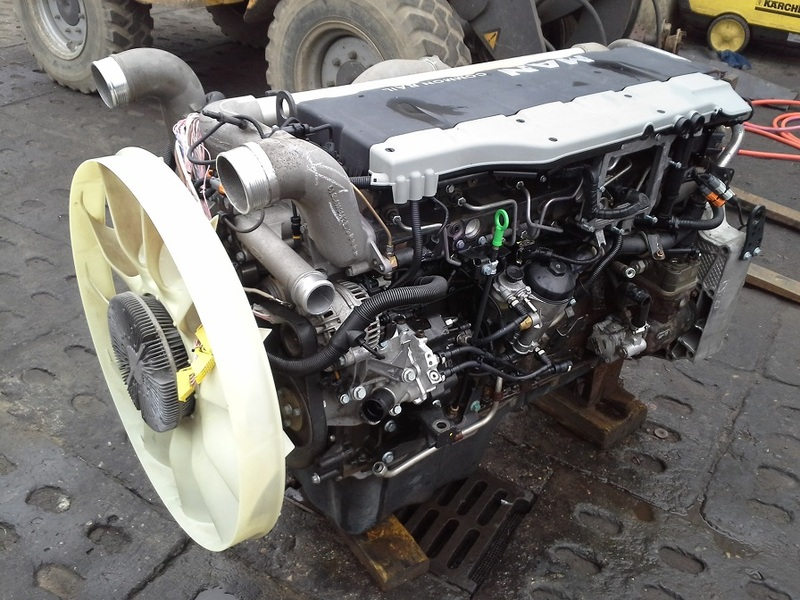 MAN D20 D2066 TGA TGS TGX engine/ engine spare part for sale at