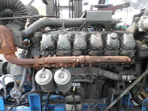 MAN Stationärmotor D 2842 LE engine/ engine spare part for sale at