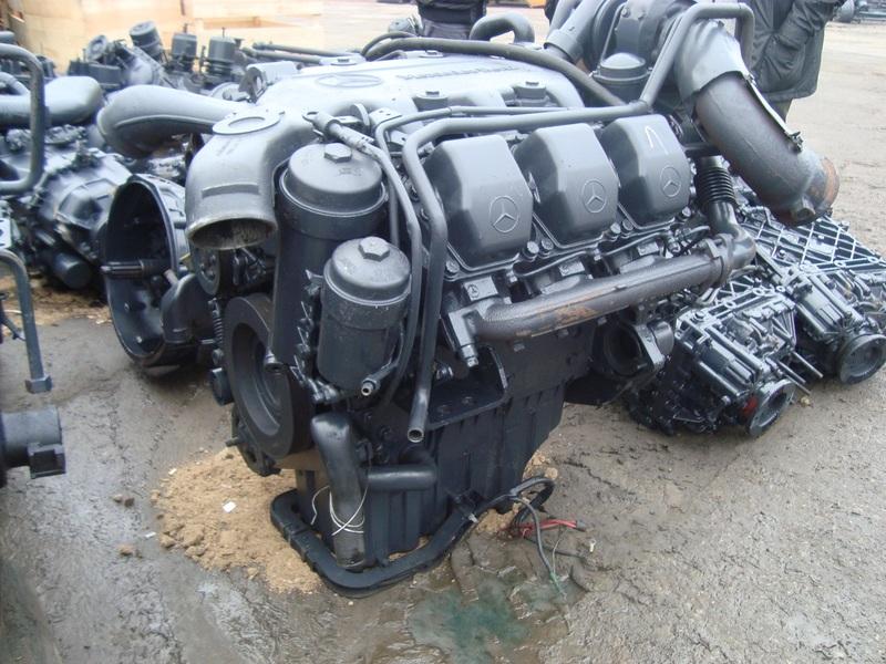 MERCEDES BENZ ACTROS 1840 2543 1835 OM 501 LA V6 engine ...