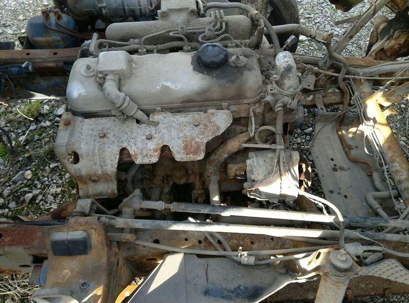 Engine Mazda T3500 3 5 diesel MAZDA T3500 7 5 ton 4X2 - Truck1 ID: 2959502