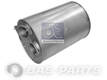 DT SPARE PARTS Exhaust Silencer DT Spare Parts 555004 - exhaust pipe