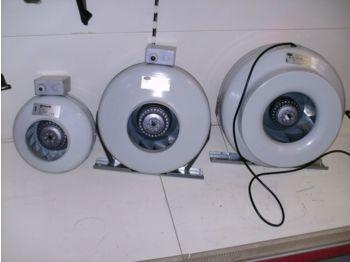 Heating/ ventilation New 1138 Buisventilatoren