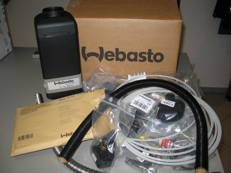 webasto air top 2000 st 24v heating/ ventilation for sale at IC410