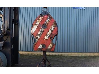 Spare parts Liebherr HOOKBLOCK 32t 32t, 1 Sheave, Ø 23 mm
