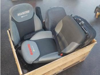 Assorted Operator Seats to suit Manitou - seat