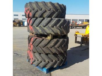Tires 480/70R30 Tyres to suit JCB Fasttrac (4 of)