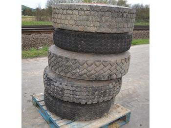 Tires Pallet of Assorted Tyres (5 of)