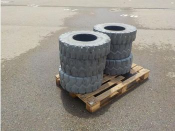 Pallet of Solid Forklift Tyres (6 of) - tires