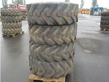Solideal 15.5/80-24 Tyres to suit Telehandler (4 of) - tires