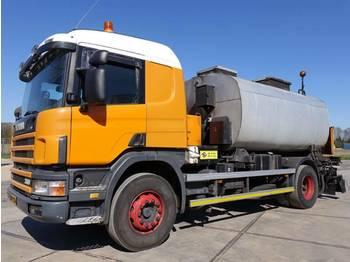 Scania P114G 4x2 380 Bitumen sprayer / euro 3  - asfalto mašina