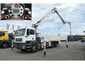 MAN TG-A 26.360 6x4 Betonpumpe Putzmeister 36m / 3.3  - betono siurblys
