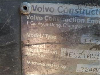 VOLVO 210EC - vikšrinis ekskavatorius