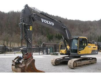 Volvo EC250D NL 1 žlici 8.741 delovnih ur  - vikšrinis ekskavatorius