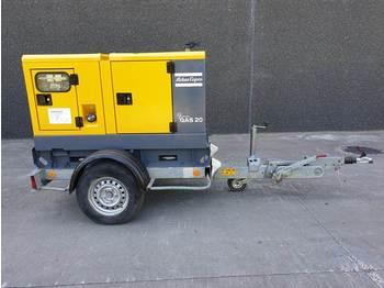 Atlas-Copco QAS 20 - elektrický generátor