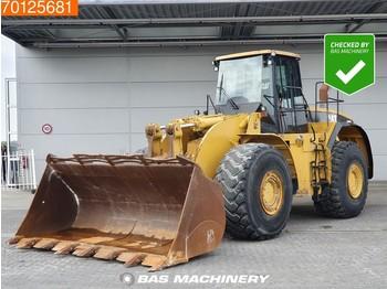 Caterpillar 980 G Good tyres - bucket with tips - колесен товарач