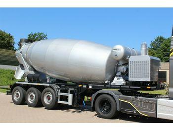 EUROMIX MTP 12m³ Betonmsicher Auflieger  - бетономешалка