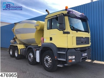 MAN TGA 32 440 8x4, 9 M3, Liebherr mixer, Manual, Steel suspension, Airco - бетономешалка
