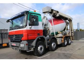 Бетономешалка Mercedes-Benz ACTROS 3241 STETTER 8M³ + Tapis/Band THEAM