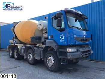 Renault Kerax 370 Dxi 8x4, Liebherr, Steel suspension, Manual, Hub reduction, euro 4 - бетономешалка