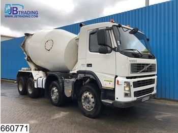 Volvo FM 380 8x4, Liebherr, 9 M3, Steel suspension, Manual, Airco, euro 4 - бетономешалка