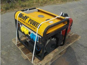 7KvA, 1.5KvA Petrol Generator (2 of) - электрогенератор