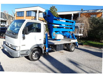 CTE Z20 Nissan - грузовик с подъемником