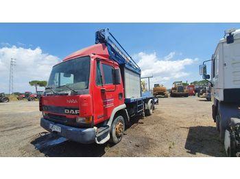 DAF FA45.160 - грузовик с подъемником