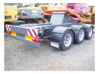 Sandvik / Extec Dolly axle / Dolly Transportachse - строительная техника