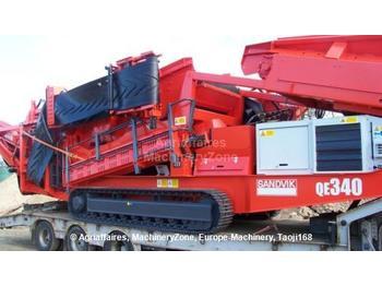 Sandvik QE340 - строительная техника