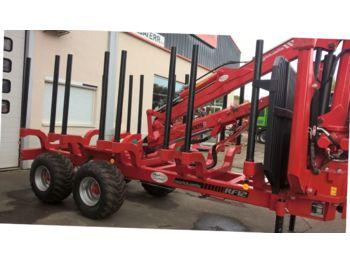 Vozilo za prevoz drva Agriduarte RF12 + G6000