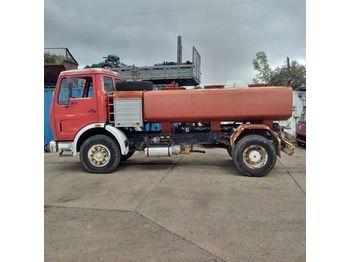 MERCEDES-BENZ 1613 left hand drive 6 cylinder 7000 litres WATER - autocisterna sunkvežimis