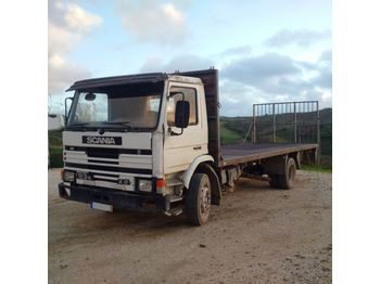SCANIA 93M 210 left hand drive 17 ton on springs - bortinis sunkvežimis