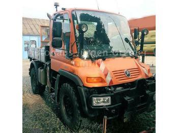 Unimog U 405/10, U 300, Frontzapfwelle, Variopilot  - bortinis sunkvežimis
