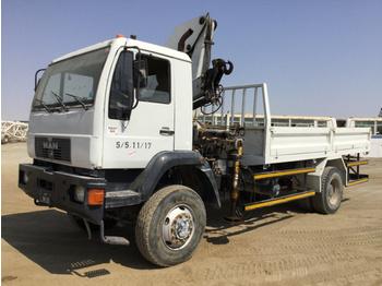 M.A.N. 18.284LAC - platforma sunkvežimis