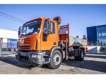 Savivartis sunkvežimis Iveco EUROCARGO 180E24+PALFINGER PK9501